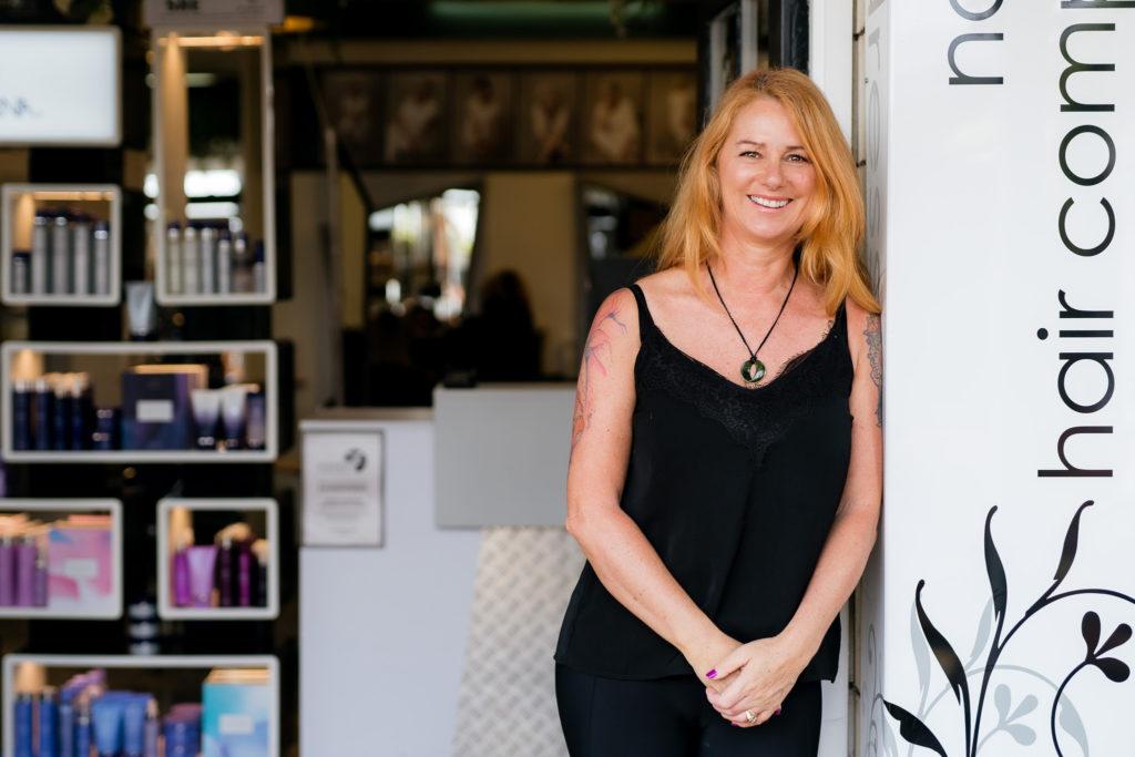 laurel stylist at northland hair company kerikeri