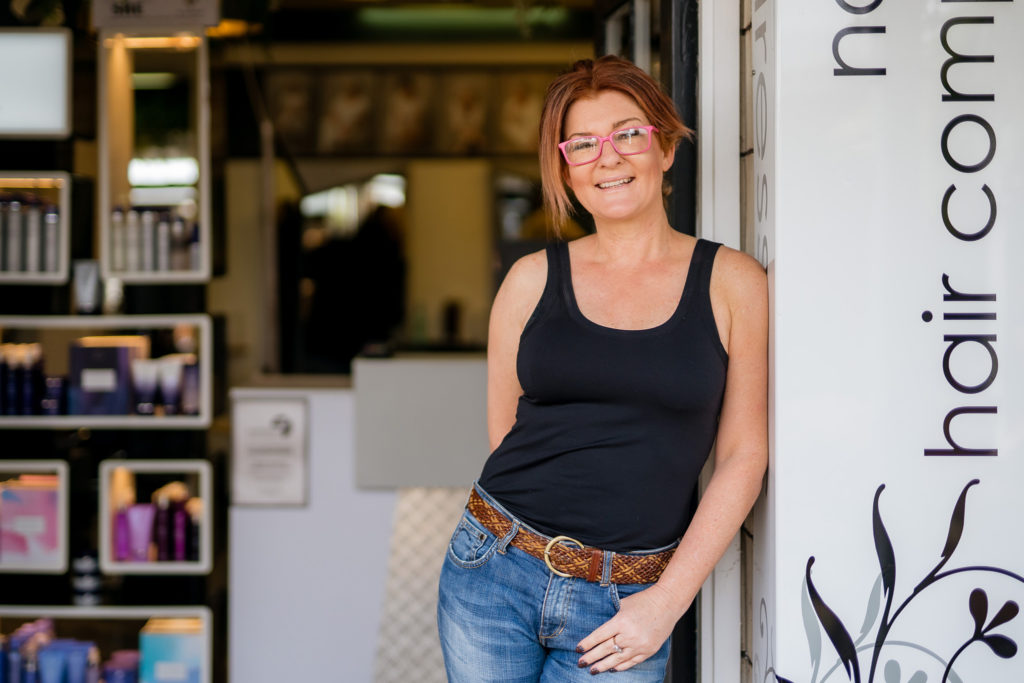 Carla hairstylist at northland hair company